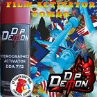 AMERICAN EAGLE LIBERTY US FLAG USA HYDROGRAPHIC FILM ACTIVATOR HYDRO DIP COMBO
