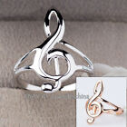 A1-R179 'I Love Music' Fashion Ring 18KGP Size 5.5-10