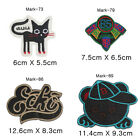 Embroidered Patchs Sew On Badge Bag Fancy Dress Applique DIY Mark-17
