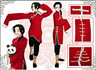 APH Axis Powers Hetalia China Wang Yao Chinese cheongsam Cosplay