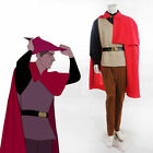 Halloween Sleeping Beauty Prince Phillip Costume Outfit Adult Men Plus