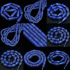 Various Sizes Multi-shapes Gemstone Natural Lazuli Lapis Beads 15.5""