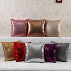 Sequins Pillow Case Colorful Sequins Cushion Cafe Home Glitter Sequins Cushion
