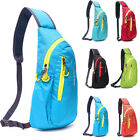 Sport Outdoor Chest Bags Crossbody Shoulder Oxford Casual Diagonal Package Packs