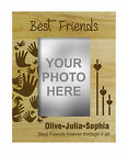 Best Friends Personalized Wood Engraved Picture Photo Frame Friendship Day Gift - Best Reviews Guide