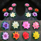Man-made Water Floating Flower Lotus Home Yard Pond Fish Tank Decor 10cm Dreamed