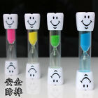 1PC New 2 Minute Hourglass Kids Toothbrush Timer Smiley Sand Egg Timer Timer