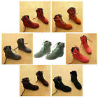 Autumn Boots Snow Boots for Women Martin Boots Suede Leather Boots P1D1