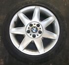 97-03 BMW E39 5-Series 17x8 Factory Alloy Wheel * WITH 235 45 17 GOODYEAR TIRE