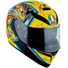 AGV K3 SV Full Face DVS Motorcycle Motorbike Helmet - Bulega 46 Yellow/Black