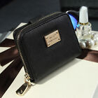 Convenience Lady Women Purse Clutch Wallet Leather Short Small Bag Card  Holder