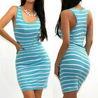 USASexy Women Bandage Bodycon Sleeveless Evening Party Cocktail Short Mini Dress