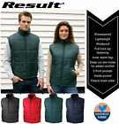 Result Mens Quilted Padded Body Warmer Gilet - Water Repellent and Windproof