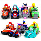 Paw Patrol Complete full set 8 piece Racer Pups Characters Figures Kid Toys Gift