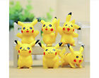 Lovely Mini Cartoon Pikachu Pokemon Center Action Figures Decoration Kids Toys