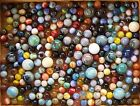 Marbles all different / size 3 1/2 lbs. approx. 270 with 20 shooters Lot 2 OF 3