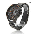 Men's Luxury Watch Stainless Steel Sport Analog Quartz Wristwatches Fashion USA