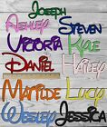 DISNEY Wood Words / Letters, Personalized Custom Names Wall Art Baby Shower Gift