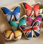 plush toy stuffed doll 3D emulational Butterfly pattern pillow cushion gift 1pc