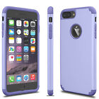 For iphone XS Max XR 6 7 8 Plus Luxury Slim Shockproof Rugged Rubber Case Cover
