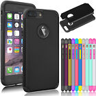 Comfort Shockproof Rugged Rubber Hard Case Cover For Apple iPhone 7 6S Plus +