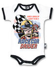 Six Bunnies Short Sleeved Babygrow - Racecar Driver