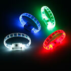 LED Fashion Silicone Bracelet Party Luminous Wristband Nightclub Bicycle Sports