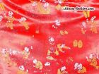 Chinese Silk Brocade Fabric Festive Textile Exotic Kids
