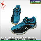 YONEX BADMINTON SHOE - POWER CUSHION 35 - SHB35EX - BLACK / BLUE 2017 NEW MODEL