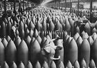 Bomb Stockade by Annex WWI Ammo Factory Antique War Photograph Canvas Art Print