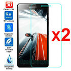 2PCS Premium Tempered Glass Film Screen Protector Cover 9H For Lenovo Cell Phone