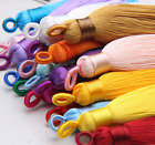 "24 colours - 2""3/8 (60mm) Fashion Craft Tassel Ear Ring Fringe Tassel Trim (A5)"