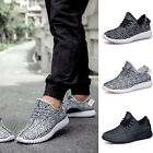 Black British Men Breathable Casual Sports Running Shoes Athletic Sneakers New