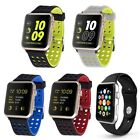 Silicone Soft Band Strap Sport Fashion Smart 38mm 42mm for Apple Watch Series 2