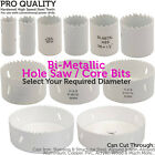 PRO Bi-Metal Core Drill Bits - 44mm DEEP - Wood & Metal Hole Saw Worktop Cutters
