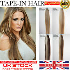 "16""-24"" TAPE IN MIXED COLORS REMY HUMAN HAIR EXTENSIONS DIY 5 COLOURS GRADE 5A"