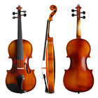 Violin 250K Premium Case Bow Package For Student Beginners 1/4 1/2 3/4 4/4 Size