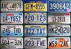 Various states some rough some nice AMERICAN LICENSE PLATE Nevada New York #2