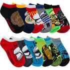 6 Pairs Of Star Wars Boys Low Cut No Show Socks By Planet Sox For Kids Toddlers $8.99 USD