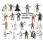 Star Wars Black Series The Force Awakens Action Figures Complete Selection Set $52.84 CAD
