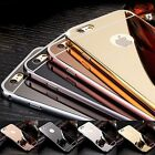 For iPhone SE, iPhone 5 & iPhone 5S Case - Luxury Chrome Metal TPU Mirror Cover