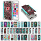 For Apple iPod Touch 6 6th/ 5 5th Gen Design Hybrid Shock Absorbent Cover Case