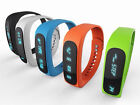 E02 INTELLIGENT SPORT BLUETOOTH FITNESS PEDOMETER BRACELET ANDROID SMART WATCH