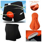Men Cycling Underwear Gel 3d Padded Bike Bicycle Riding Fit Short Pants M-xxl Uk