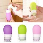 Empty Silicone Travel Packing Bottle Press Bottle Lotion Shampoo Bath Container