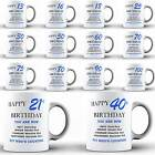 Happy Birthday Funny Boy Men Dad Son Coffee MUG Coaster Set Present Novelty Gift