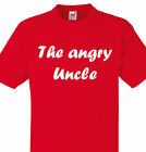 THE ANGRY UNCLE PERSONALISED CHRISTMAS GIFT BIRTHDAY UNCLES DADS BROTHER UNSUAL