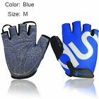 Breathable Weight Lifting Fitness Half Finger Gloves Sports Mitten Cycling