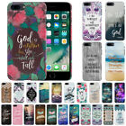 """Bible Verses Design Hard Back Case Cover For Apple iPhone 7 Plus 5.5"""" AT&T"""