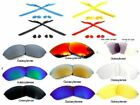 Galaxy Replacement Lenses For Oakley Half Jacket 2.0 Sunglasses Multi-Color